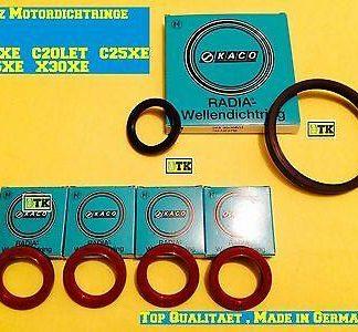 OPEL Sintra Omega Motor Dichtsatz Set Wellendichtring Kurbelwelle Ölpumpe X30XE