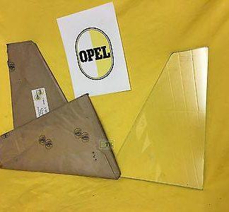 NEU ORIG Opel Kapitän P-L 2,6 Ausstellfenster Drehfenster Scheibe Türdrehfenster