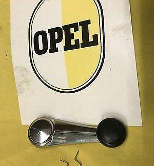NEU CHROM Fensterkurbel passend für alle Opel Rekord C und Commodore A Modelle