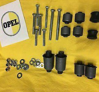 40-tlg. XXL Überholsatz Hinterachse passend für alle Opel Rekord C Mod. Buchsen