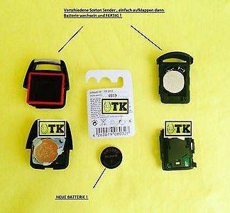 ORIGINAL SONY OPEL Corsa D Batterie Funkfernbedinung Sender Zentralverriegelung