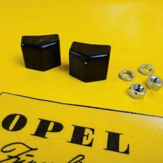 NEU Opel Admiral Diplomat B Stoßstange hinten innen Kappe Endkappen Gummileiste