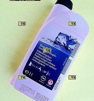 ORIGINAL OPEL Kühlerfrostschutz Antifrezze Coolant Produit antigel radiateur GM