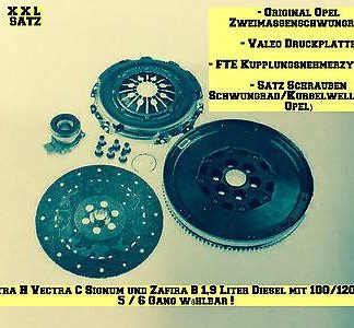 Kupplungssatz XXL Opel Astra H Vectra C Signum Zafira B 100/120PS Z19DT Z19DTL