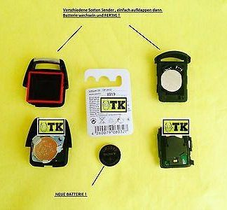 ORIGINAL SONY OPEL Batterie Funkfernbedinung Sender Zentralverriegelung