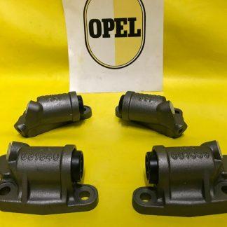 NEU XXL SATZ Radbremszylinder vorne passend für Opel Kapitän P-L 2,6 Radzylinder