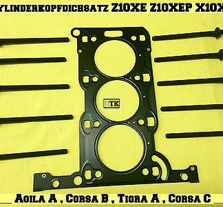 OPEL Zylinderkopfdichtsatz Agila A Corsa B C Tigra A 1,0 12V Z10XE Z10XEP X10XE