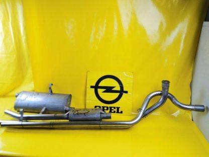 NEU Opel Kapitän 53'-57' Edelstahl Auspuffanlage komplett Auspuff
