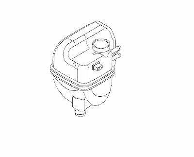 ORIGINAL Opel Signum Diesel 2,0 Diesel Y20DTH Ausgleichsbehälter Kühlmittel GM