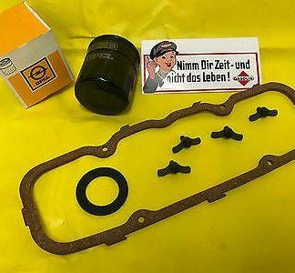 NEU ORIG ,,ÖLWEG-KIT,, + VDD Schrauben Opel Kadett D + E Corsa A + B Combo OHV