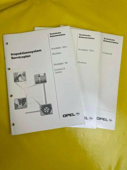 ORIGINAL Opel Broschüre + Dokumentation Technische Neuheiten Frontera Monterey