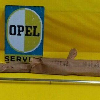 NEU + ORIG Opel Rekord B Zierleiste Chrom Heckblech unten Coupe + 6 Zylinder