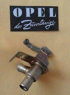 NEU + ORIGINAL OPEL Heizventil Opel Rekord D Heizungsventil NOS Heizungshahn OEM