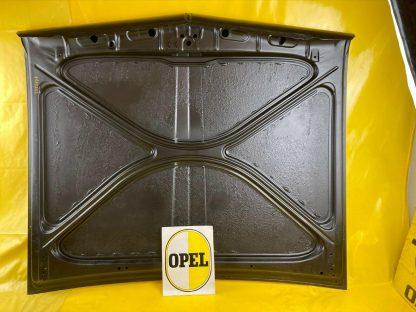 NEU + ORIGINAL Opel Rekord A B Motorhaube Coupe 4 + 6 Zylinder