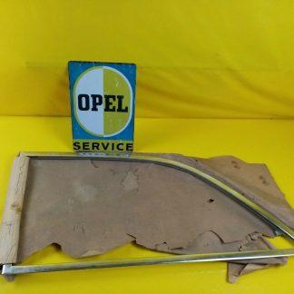 NEU + ORIG Opel Rekord P2 Rahmen Fenster Chrom Ausstellfenster hinten links