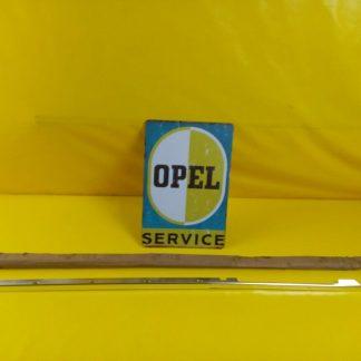 NEU + ORIGINAL Opel Admiral Diplomat Leiste Türschacht Chrom Fahrertür