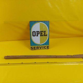 NEU + ORIG Opel Admiral Diplomat A Tür Zierleiste Chrom Türschacht vorne rechts