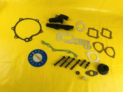 NEU + ORIGINAL Opel CiH Motorteile Steuergehäuse Dichtung Gleitschiene Schrauben