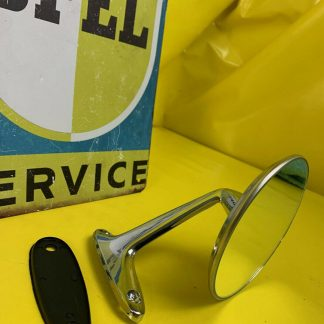 NEU Chrom Spiegel Außenspiegel Opel | Rekord C | Commodore A | Kadett B | GT