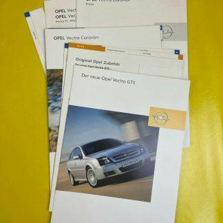 ORIGINAL Opel Broschüre Opel Vectra GTS Caravan Silverline Shadowline