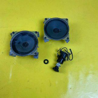 NEU + ORIGINAL Einbausatz Radio Lautsprecher für Opel Ascona C + Kadett E