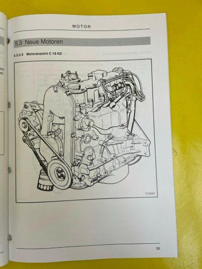 ORIGINAL Opel Produktangebot Modelljahr 1991 Technische Neuheiten Informationen