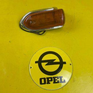 NEU + ORIGINAL Opel Rekord A/B Coupe Limousine Blinker orange Gehäuse Glas