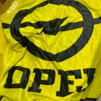 NEU + ORIGINAL Opel Flagge Fahne Werbefahne Deko Rarität Mega groß