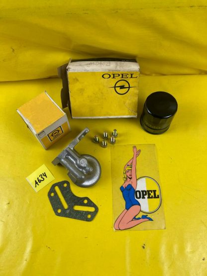 NEU + ORIGINAL Opel Kapitän PL 2,6 Motor Dichtung Filter Gehäuse