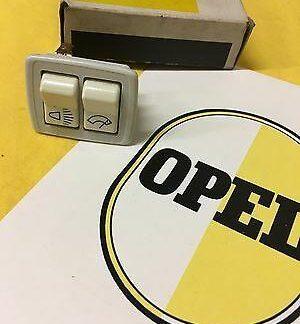 NEU + ORIGINAL Opel Kadett A Schalter Licht Scheibenwischer Kippschalter NOS