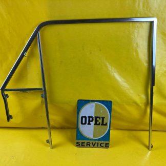 NEU + ORIGINAL Opel Kadett A Coupe Satz Tür Rahmen chrom Chromrahmen Zierrahmen