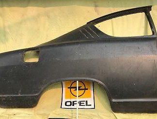NEU + ORIG Seitenwand Seitenteil rechts Opel Kadett B KIEMENCOUPE Radlauf Blech
