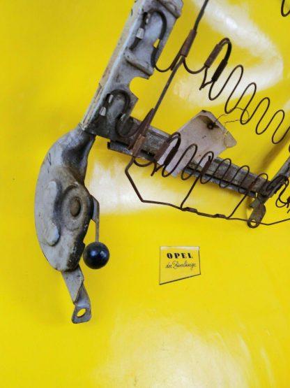 NEU + ORIGINAL Opel Rekord A / B Sitzbank Federung Rücken Rahmen vorne rechts