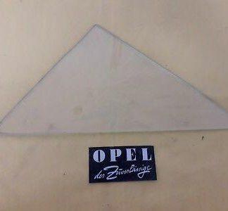 NEU + ORIGINAL Opel Rekord A 4-türer Scheibe Fenster Tür vorne links