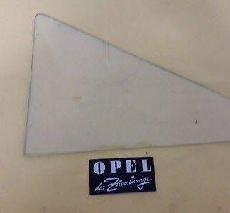 NEU + ORIG Opel Kombi Limousine P2 2-türer Scheibe Fenster Tür vorne li + re