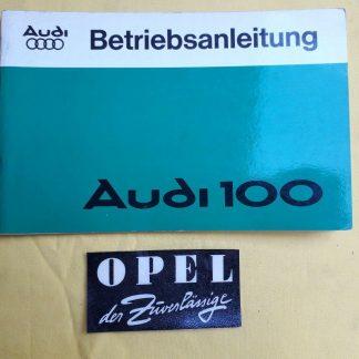 ORIGINAL Audi Betriebsanleitung Serviceheft Handbuch Limousine Kombi Ausg. 1978