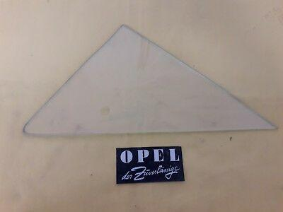 NEU + ORIGINAL Opel Rekord A + B 4-türer Scheibe Fenster Tür vorne rechts