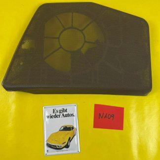NEU + ORIGINAL GM/ Opel Omega A Stufenheck Blende Lautsprecher Speaker Abdeckung