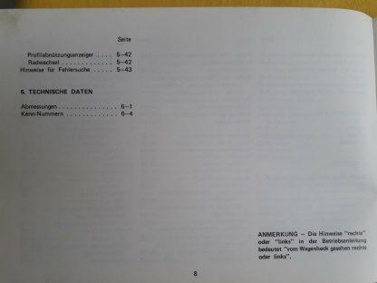 ORIGINAL Mazda Betriebsanleitung Serviceheft Handbuch Mazda 929 France