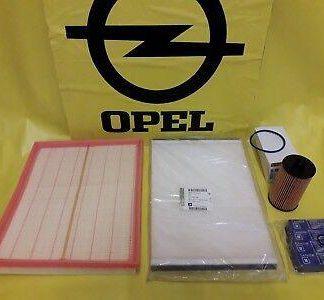 NEU + ORIGINAL Opel Astra H Inspektionskit Filter Dichtung Zündkerze