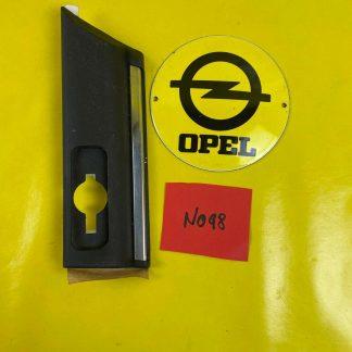 NEU + ORIGINAL Opel Omega B Zierleiste Kotflügel rechts schwarz, Zierstab Leiste