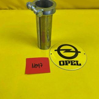 NEU + ORIGINAL Opel Corsa B 1,0 Auspuff Verbindung Rohr Vorderer Mitteltopf