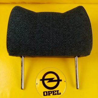 NEU + ORIG Opel Kopfstütze blau karriert Kadett Manta Rekord Commodore Diplomat