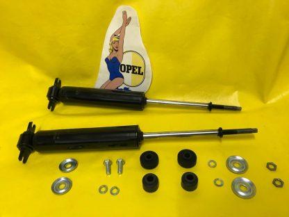 NEU SATZ verstärkte GASDRUCK Stoßdämpfer vorne Opel Olympia Rekord P1 + P2
