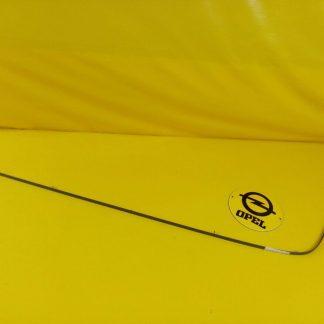 NEU + ORIG GM Opel Omega A Stufenheck Zierleiste Stoßstange hinten rechts grau