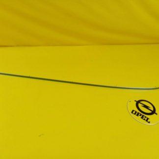 NEU + ORIG GM Opel Omega A Stufenheck Zierleiste Stoßstange hinten rechts Chrom