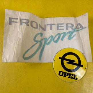 NEU + ORIGINAL Opel Frontera A Sport Folie Aufkleber Dekor Klebefolie Schriftzug