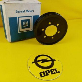 NEU + ORIGINAL GM Opel Senator B Omega A 3,0 Riemenscheibe Kurbelwelle