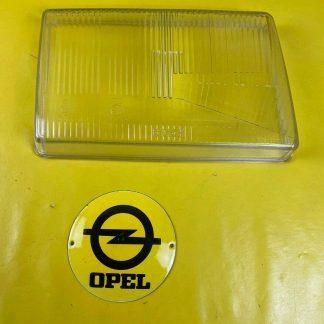 NEU + ORIGINAL Opel Rekord E Scheinwerfer Glas Streuscheibe rechts