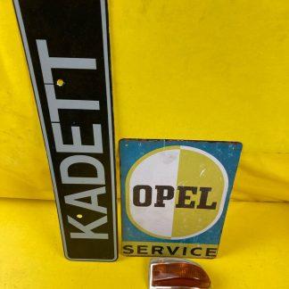 NEU + ORIGINAL Opel Kadett A N Limousine Kombi Blinker komplett vorne links